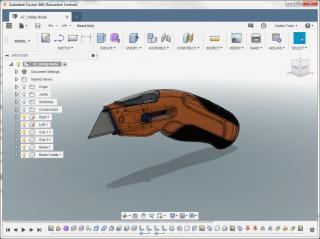 corso di modellazione 3D con Autodesk Fusion 360